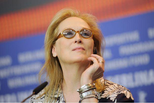 Meryl Streep à Berlin le 10 août 2016