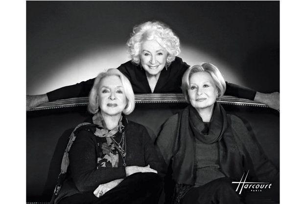 Micheline Presle, Michèle Morgan, Danielle Darrieux immortalisées par le Studio Harcourt