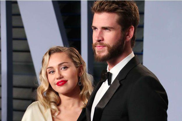 Miley Cyrus et Liam Hemsworth, mars 2018