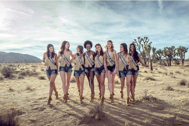 Les Miss à la découverte de la Californie.