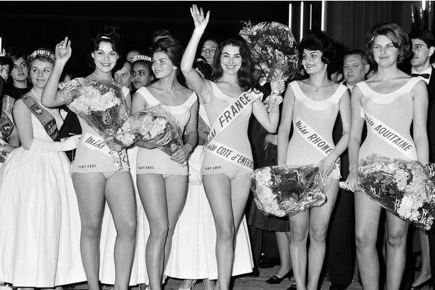 Monique Lemaire, Miss Côte d'Émeraude, Miss France 1962 en 1961.