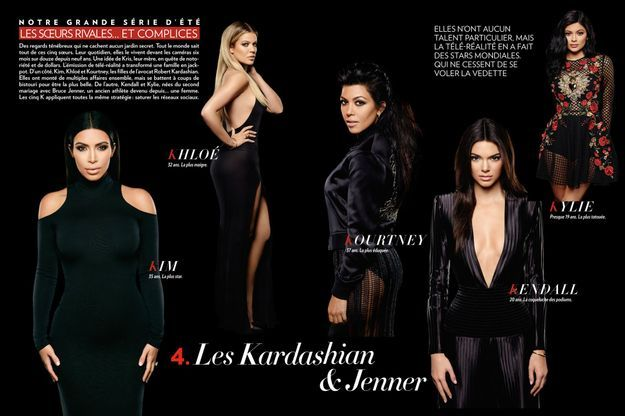 Le clan Kardashian & Jenner.