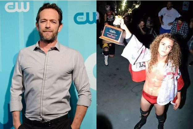 Luke Perry et son fils Jack