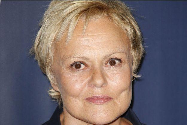 Muriel Robin, au 20ème festival international du film de La Rochelle, le 13 septembre dernier.