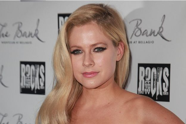 Avril Lavigne à Las Vegas pour ses 30 ans en septembre dernier