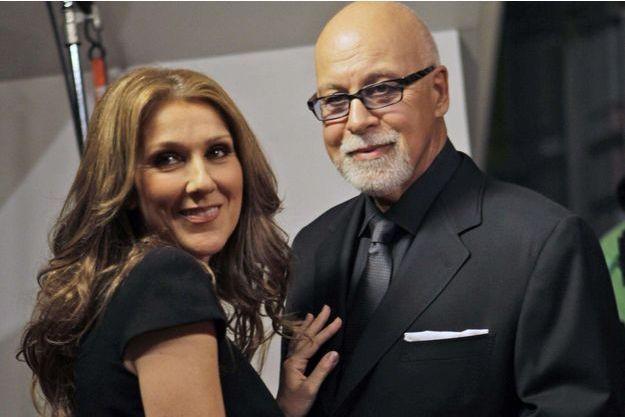 Céline Dion et René Angelil en 2010.