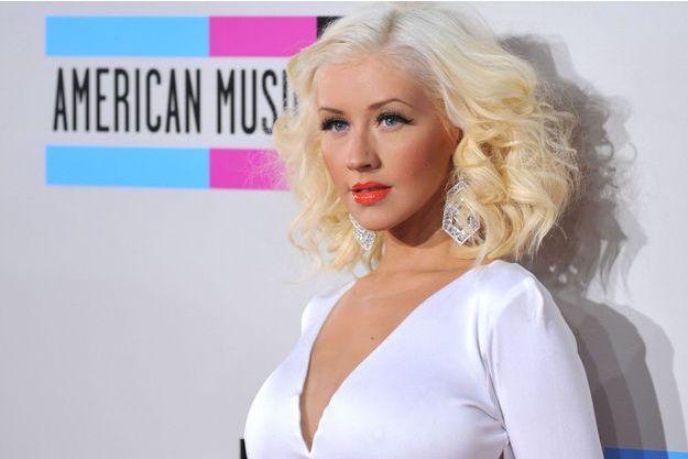 Christina Aguilera aux American Music Awards, en novembre dernier.