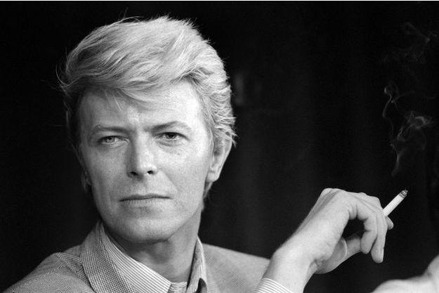 David Bowie en 1983.