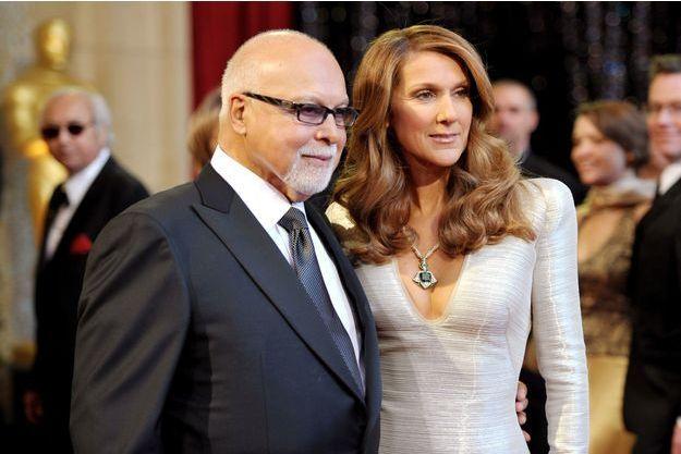 Céline Dion et René Angélil au temps du bonheur.