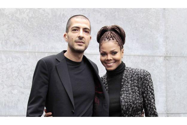 Janet Jackson et Wissam Al Mana.