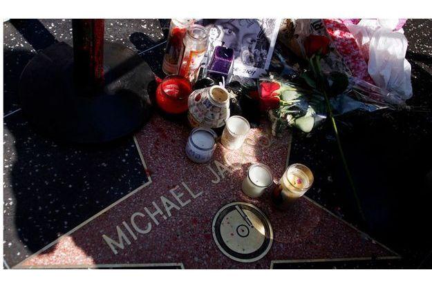 L'étoile de Michael Jackson a Hollywood