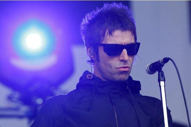 Liam Gallagher sur scène le 28 juin dernier, durant le festival de Glastonbury.