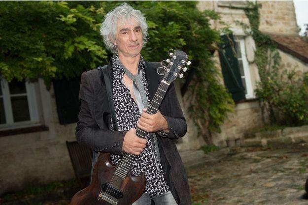 Louis Bertignac à Saint-Nicolas-de-Macherin le 7 octobre dernier