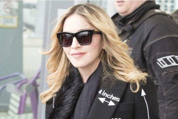 Madonna à Londres, avril 2016.