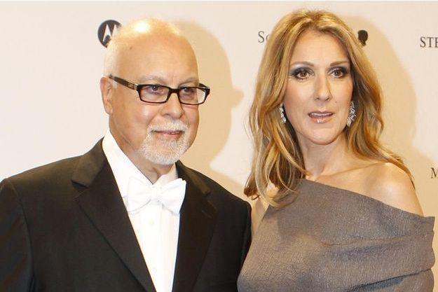 Céline Dion et René, en 2012.