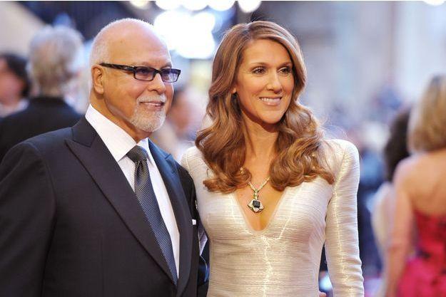 Céline et René à la cérémonie des Oscars en 2011.