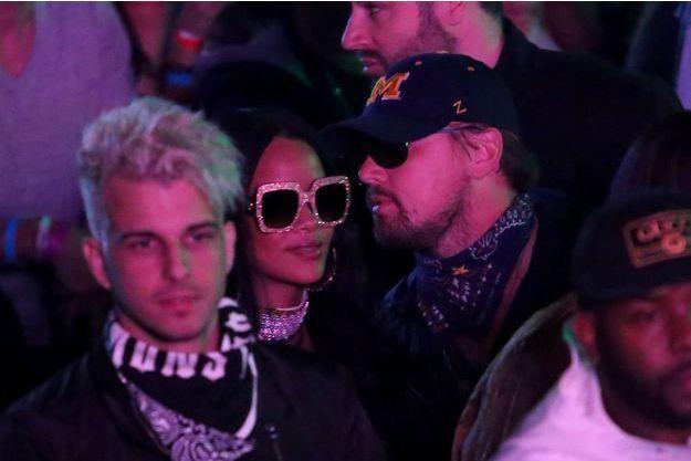 Rihanna et Leonardo DiCaprio à Coachella.
