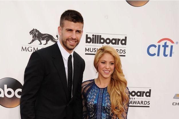 Shakira et Gerard Piqué aux Billboard Music Awards au printemps 2014