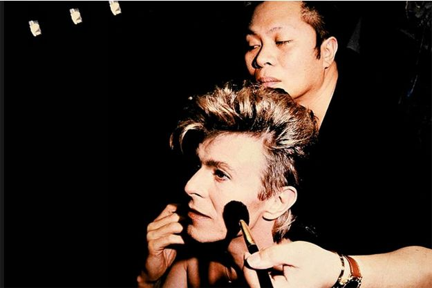 David Bowie et Teddy Antolin.