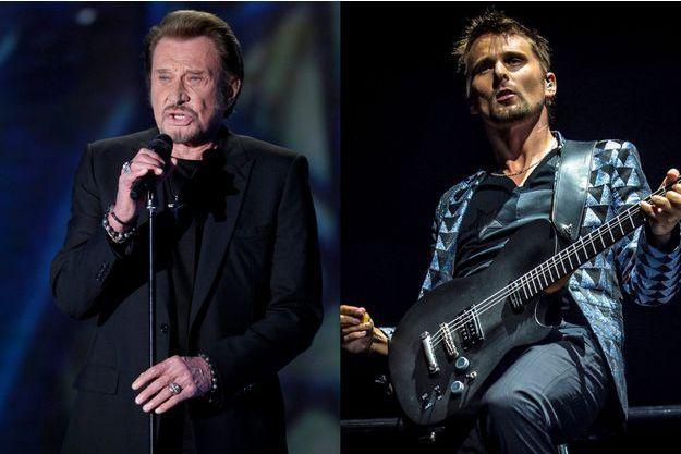 Johnny Hallyday et Matthew Bellamy, un prochain duo ?