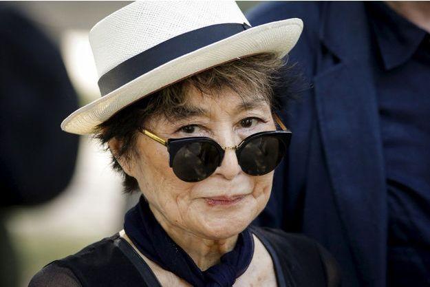 Yoko Ono à New York en juillet 2015.