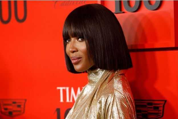 Naomi Campbell à New York en avril 2019