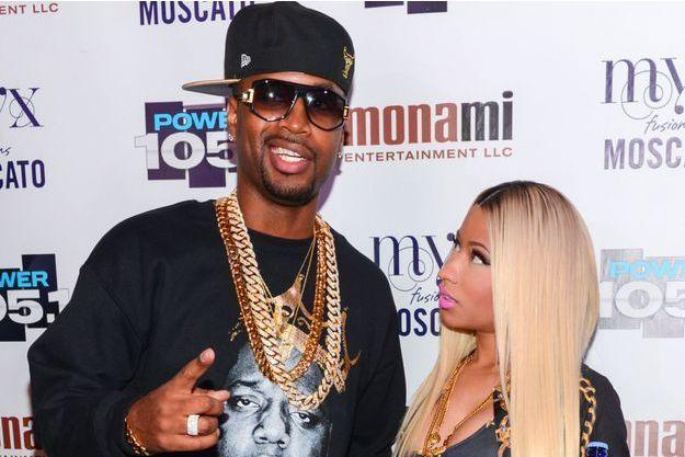 Nicki Minaj et Safaree en 2013