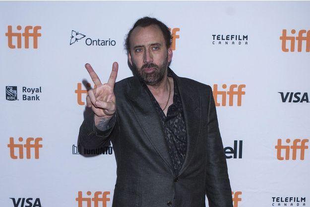 Nicolas Cage en 2017.