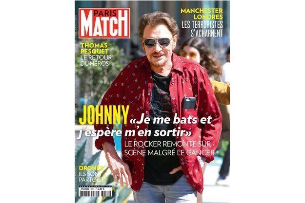 La couverture du numéro 3551 de Paris Match