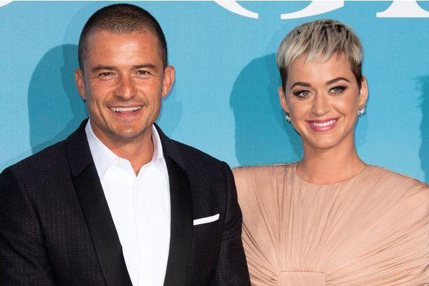 Orlando Bloom et Katy Perry au Gala for the Global Ocean à Monte-Carlo le 26 septembre 2018