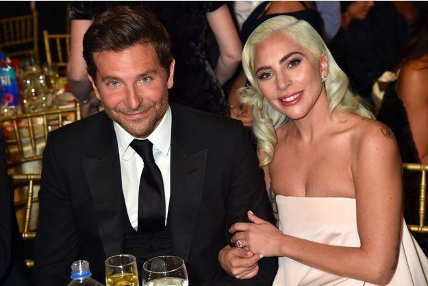 Bradley Cooper et Lady Gaga, janvier 2019