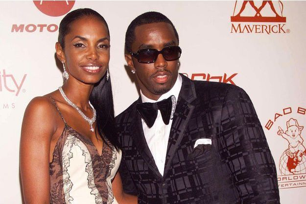 P. Diddy et Kim Porter en août 2002