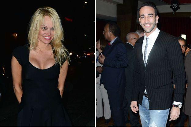 Pamela Anderson et Adil Rami ensemble ?