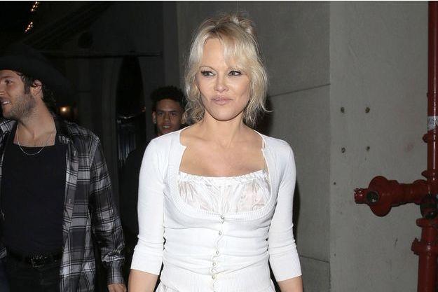 Pamela Anderson à Hollywood, le 15 juin 2018