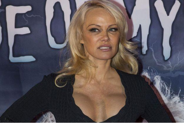 Pamela Anderson en Allemagne, le 16 janvier dernier.