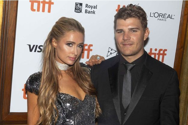 Paris Hilton et Chris Zylka en septembre 2018