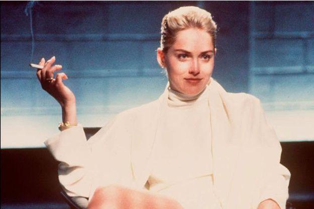 """Sharon Stone dans """"Basic Instinct"""""""