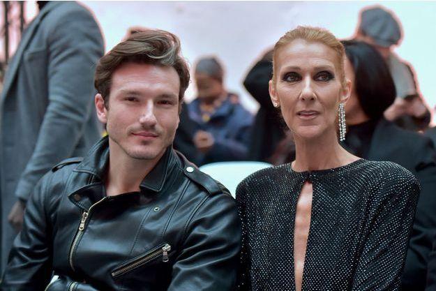Céline Dion et Pepe Munoz à Paris, le 22 janvier 2019