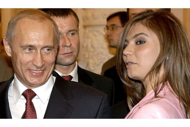 Vladimir Poutine et Alina Kabaeva, en novembre 2004, au Kremlin.