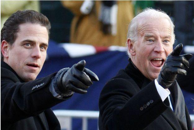 Hunter et Joe Biden en 2009.