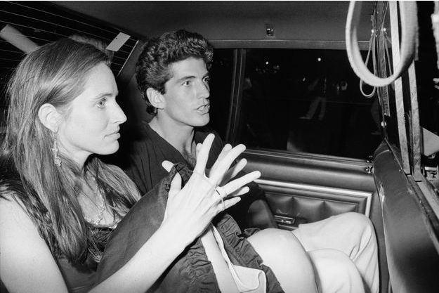 Christina Haag et John F. Kennedy Jr.