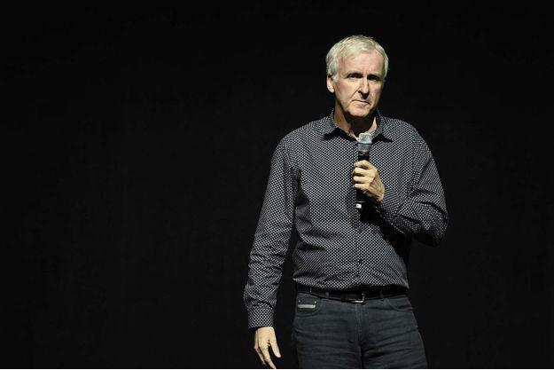 James Cameron en avril 2016 à Las Vegas.