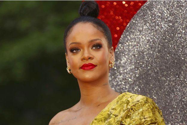 Rihanna en juin 2018