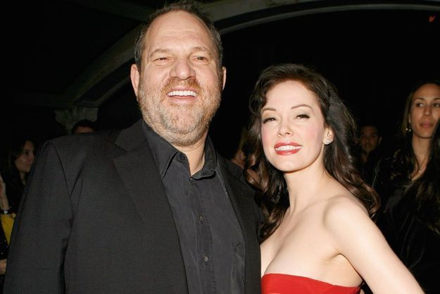 Avec Rose McGowan en 2007, lors de la première de « Grindhouse » de Tarantino et Rodriguez. Dix ans plus tard, elle l'accuse d'agression sexuelle.