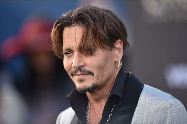 Johnny Depp, le 18 mai 2017.