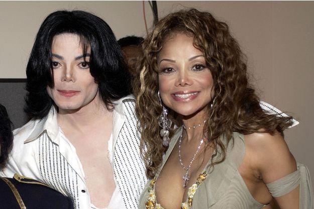 Michael et La Toya Jackson aux BET Awards en 2003