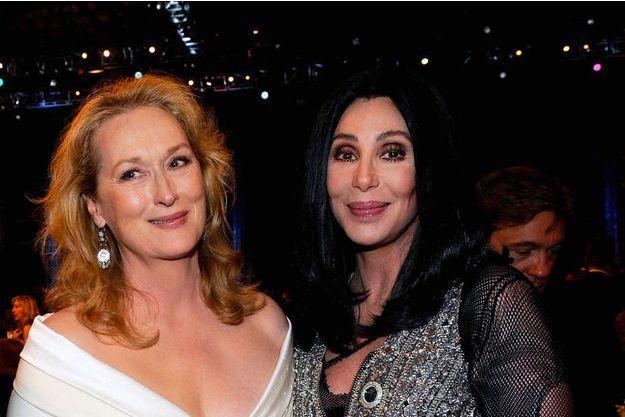 Meryl Streep et Cher en 2010