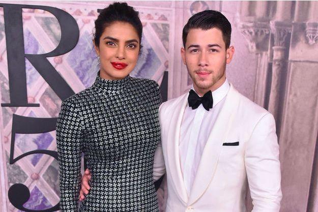 Priyanka Chopra et Nick Jonas au défilé Ralph Lauren, le 7 septembre 2018 à New York