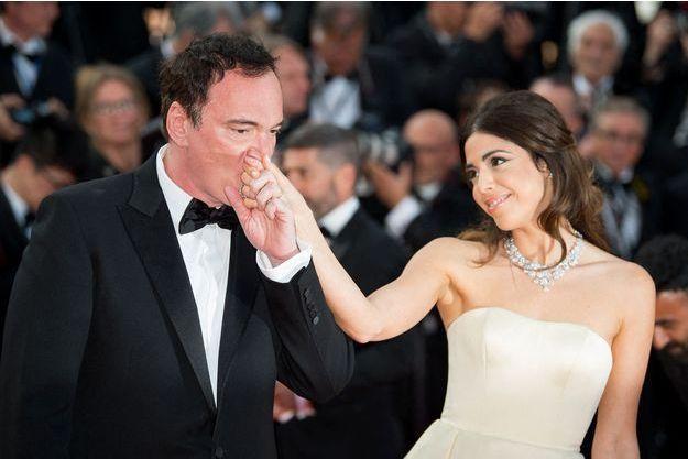 Quentin Tarantino bientôt papa à 56 ans