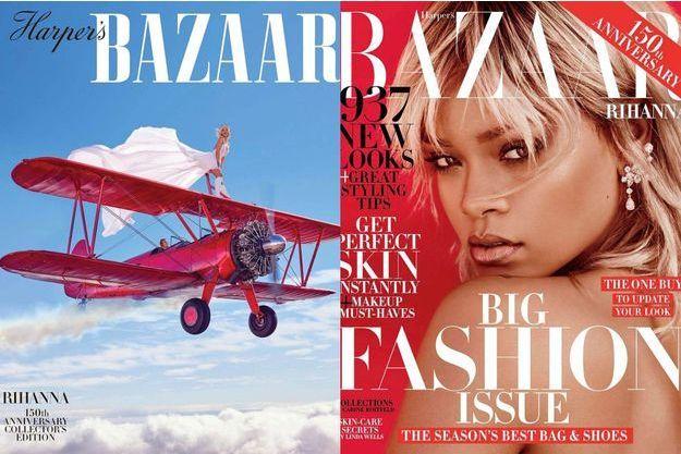 Rihanna pour Harper's Bazaar